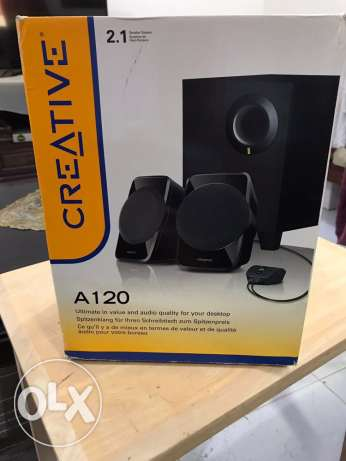 Speakers Creative slightly used