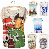 New Fashion Women Summer Tops Loose