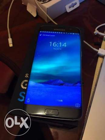 orignal samsung s7 edge 64gb black onyx with warranty