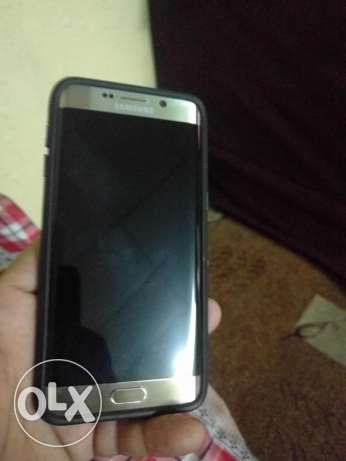 Samsung s6edge plus gold very neat and clean fresh piece