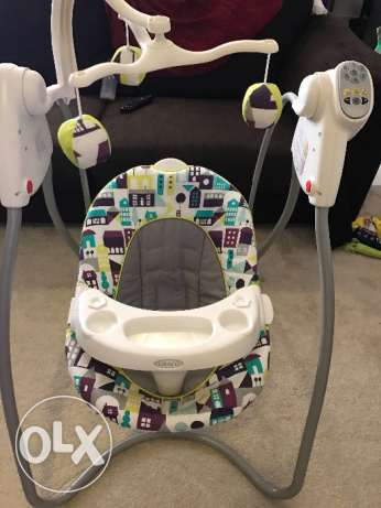 Graco baby swing set الرياض -  2
