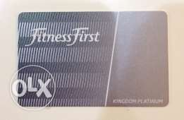 Fitness First Platinum Subscription