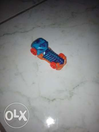 Hot wheels color changing car