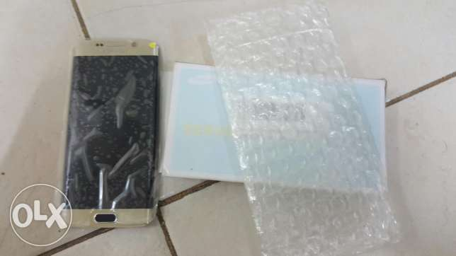 S6 lcd screen gold