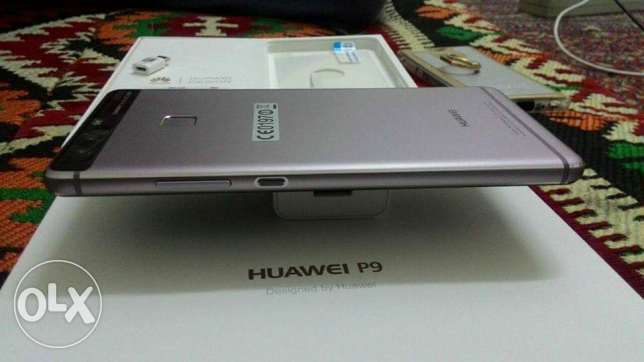 Huawei p9 with 21 months warranty and receipt