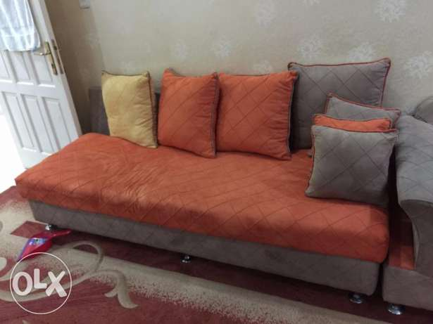 9 Seater Sofa With Table.