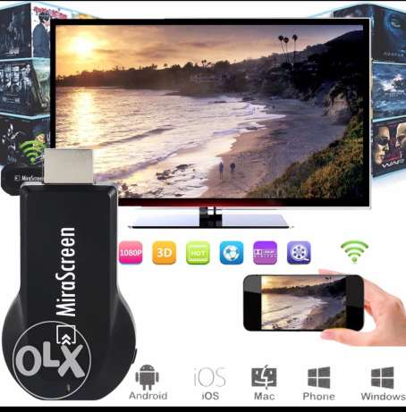 Tv stick dongle wireless receiver