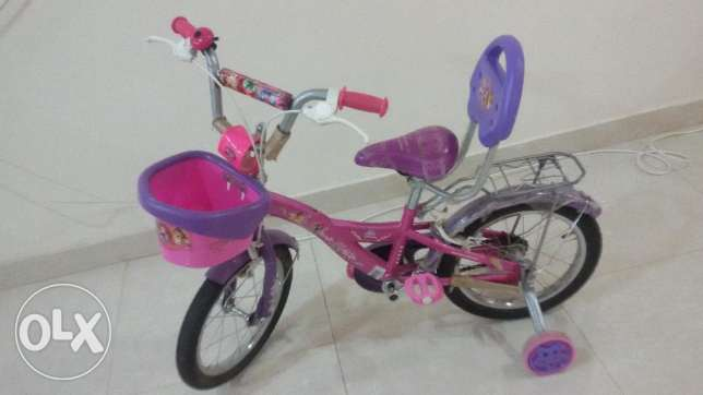 urgent sale for Disney Princess cycle for 4 -7years