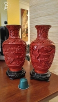 2 Small chinese vase