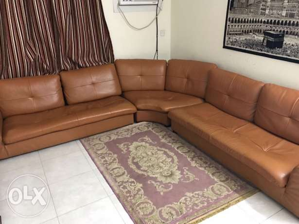 sofa leather from home center