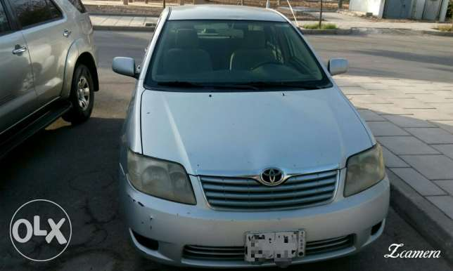 SAR 11000 ToyotaCorolla, 2007, manual, 380000 KM, Excellent Condition