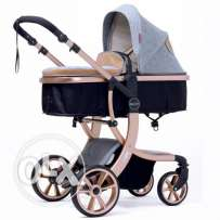 Luxury Travel Foldable Pram Baby Stroller