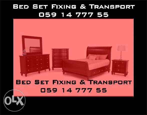 Bed Set Fixing & TRANSPORT
