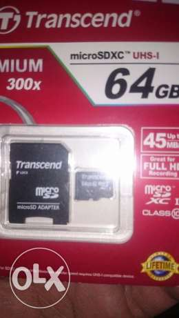 64 gb memory card new