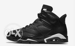 Jordan 6 Black Cat - Size 9.5 US BNDS