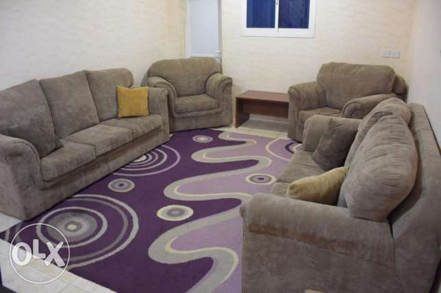 American Style Sofa Set 7seater in excellent condition for urgent sale
