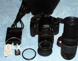 Camera canon 600d prof. with two lens for sale