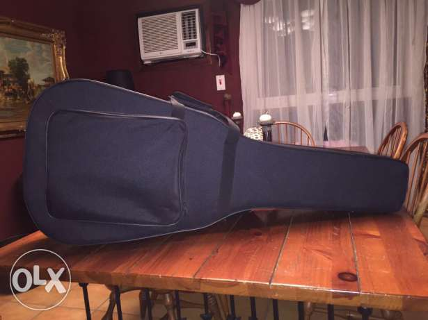 guitar and hard case New for sale