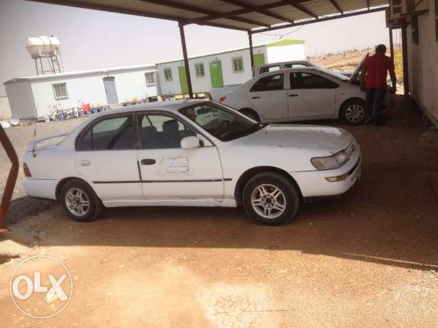 toyota 1995 corolla with brand new aircond compressor الرياض -  2
