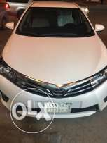 Toyota Corolla 2015, Full option, with excellent condition