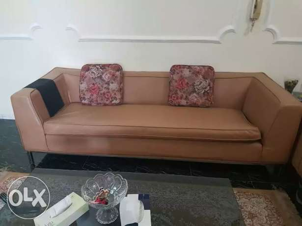 Leather Sofa of Home Center