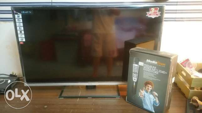 TCL 40' SMART TV with mediacom