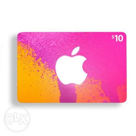ITUNES 10$ Card For Sale!!