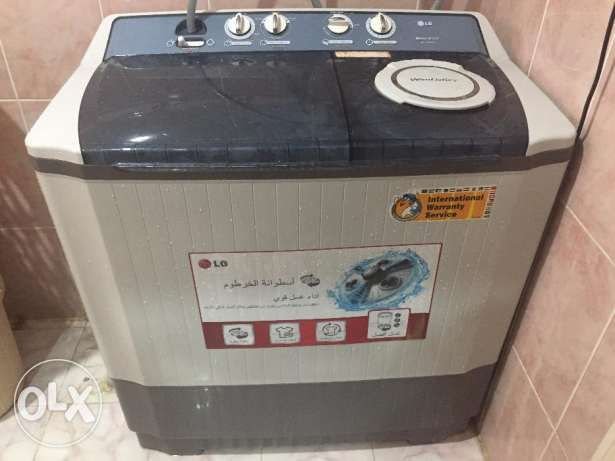 LG Washing Machine - Semi Automatic - 3 Action Jumbo Size - Fiber Body