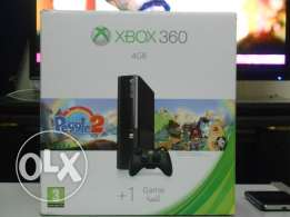 XBOX 360 with 2 games gable anniversary edition and mine craft