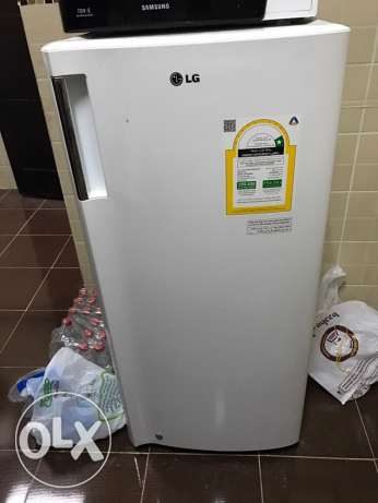 LG Refrigerator 15 sq feet used for 1 year in excellent condition