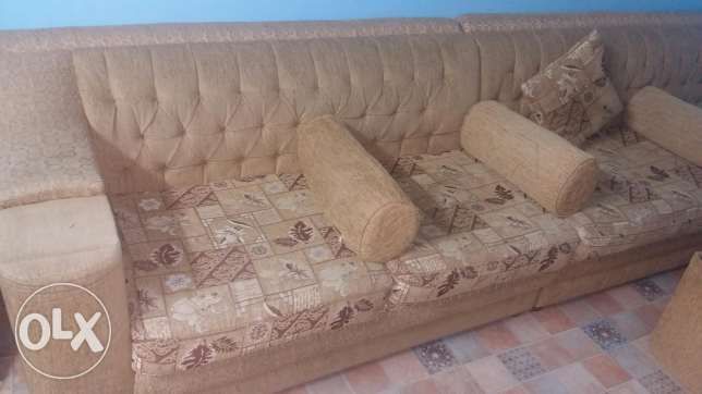 Sofa's with 8 set Small Table's