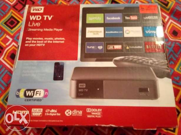 WD TV live device. Good for lcd