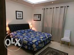 Excellent 2 bedroom flat in Rawdah with household stuff