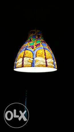 Hand painted lamp shades for sale الرياض -  1