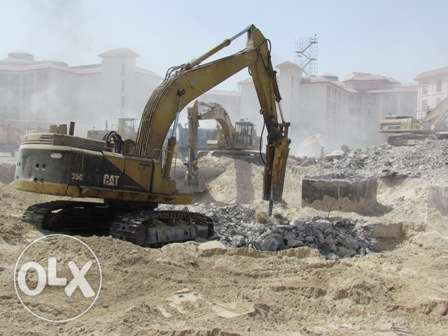 We are subcontractors for Excavation & Deportation of buildings, trenc الرياض -  3