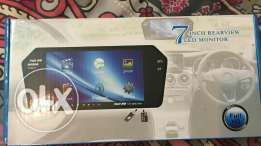 "LCD 7"" With Rear View Camera Brand new"