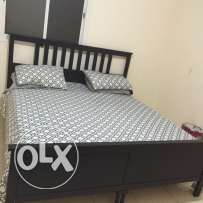 Excellent Condition IKEA King Bed, Doube Bed and Day Bed