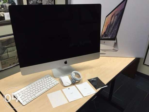 27 IMac Retina 5K Display 3.7ghz Intel Core i7-1TB-32GB (latest)