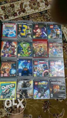 PS3 excellent games in excellent condition