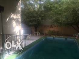 Ground floor villa with pool in Sulaimaniyah for rent!!!