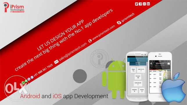 Android and iOS Mobile Apps Development Services in Saudi Arabia