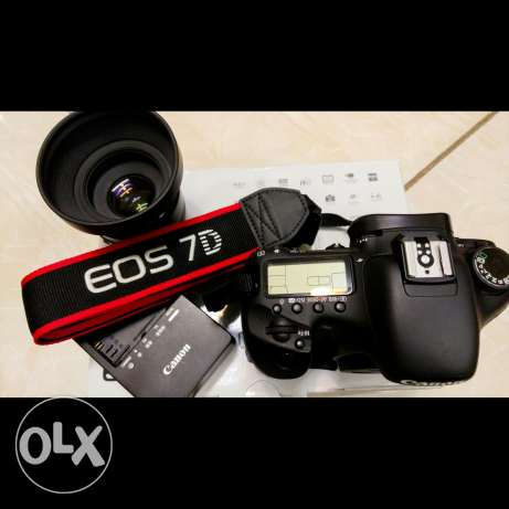 Canon 7D Totally In New Condition With 50mm Lens الرياض -  1