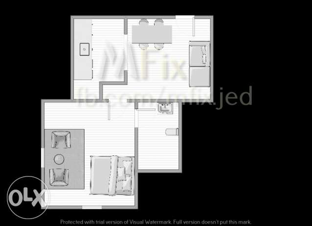 1 Bedroom I Living ,Kitchen, Dining Space I 1 Bathroom I Salamah I
