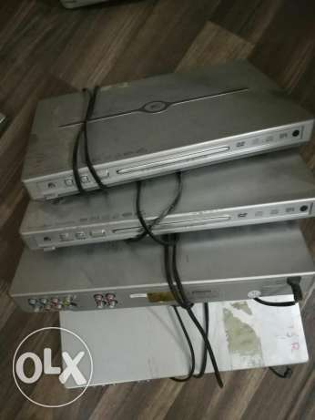 Four DvD players for sr.100 only