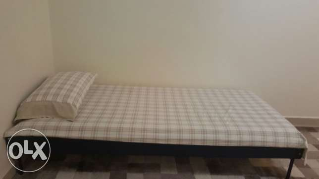 IKEA single bed and chest drawer include mattress