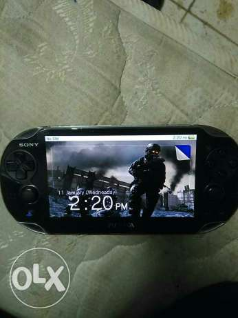 Ps vita 3g+wifi with 8 game cards