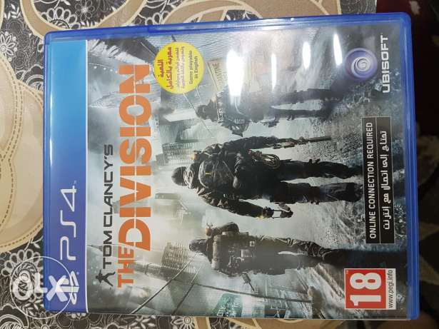 The Division PS4 Arabic & English