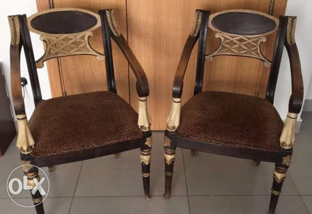 Set of 2 armsofas