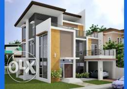 Desain Interior and Exterior,House,Building