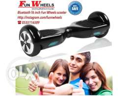 black bluetooth 6 inch funwheels electric scooter - سكوتر كهربائي
